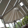Conservatory roof rolers.
