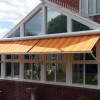 Markilux drop arm awning.