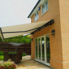 Markilux 1710 awning in anthracite finish