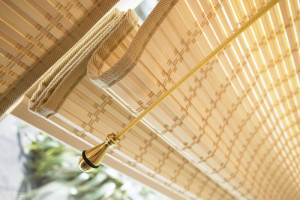 French Pinoleum Blinds / Woodweave Blinds