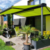 Awnings for open spaces.